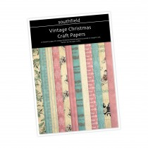 Vintage Xmas Pinks Craft  Pack
