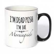 Dead Posh Black Handle Mug