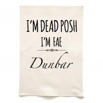 Dead Posh Tea Towel + Tag
