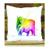 Cushion Cover (Bordered Image)