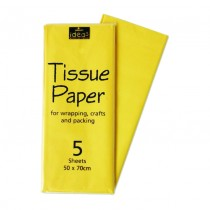 Yellow Tissue Paper 5 Sht