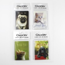 Dinky Notecards-Puppies & Kittens