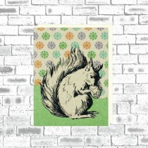 Eco Squirrel Notebook