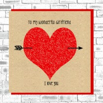 Eco Love You Card-Girlfriend