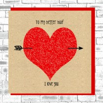 Eco Love You Card-Better Half