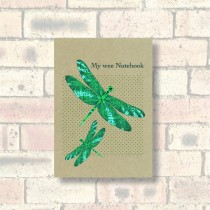 A6 Eco Notebook-Dragonflies