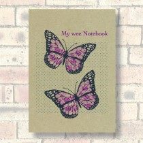 A6 Eco Notebook-Butterflies