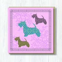 Greeting Card-Terriers