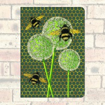 A5 Notebook-Bees