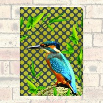 A5 Notebook-Kingfisher