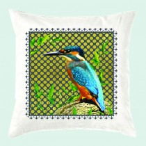 Cushion-Kingfisher (with inner)