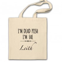 Dead Posh Cotton Shopper Bag+Tag