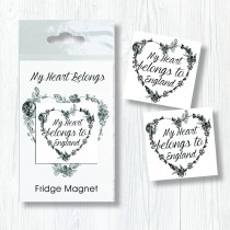 Bagged Magnet-My Heart Belongs