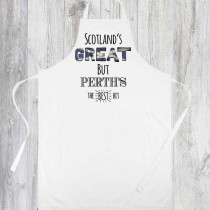 Scotlands Great Printed Apron+Tag