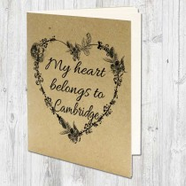 Heart Belongs A5 Eco Jotter