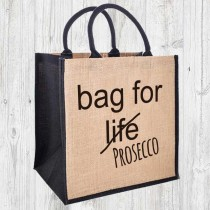 Bag For Life Jute Shopper+Tag