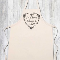 Apron-My Heart Belongs+Tag