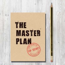 A6 Eco Notebook-Master Plan