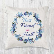 Best Relation Cushion & Inner (blue)+Tag