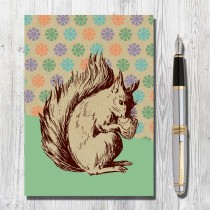 A5 Eco Notebook Squirrel