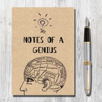 A5 Eco Notebook-Genius
