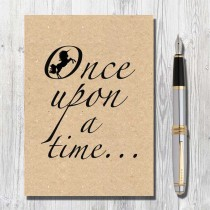 A5 Eco Notebook-Once Upon