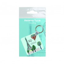 Hi Gloss Keyring in Bag With Insert