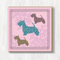 Textured Card-Terriers