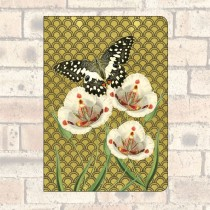 A5 Notebook-2 Round Corners-Butterfly