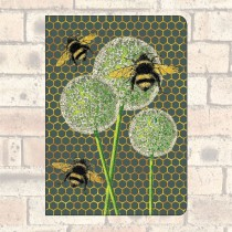 A5 Notebook-2 Round Corners-Bees