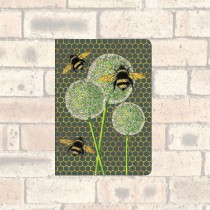 A6 Notebook-2 Round Corners-Bees