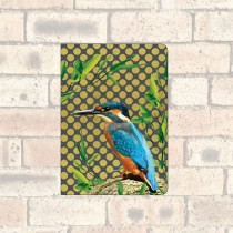A6 Notebook-2 Round Corners-Kingfisher