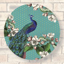 Placemat-Peacock