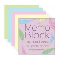 Memo Pad Blocks
