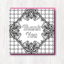 Colour-In Thank you card 3