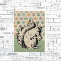 A6 Eco Notebook Squirrel
