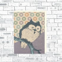 A6 Eco Notebook Owl