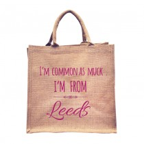 Common As From Natural Jute Shopper+Tag
