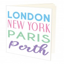 London NY Pastel A5 Jotter