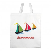 Sail Boat Shopper +Tag