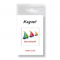 Sail Boat Bagged Fridge Magnet