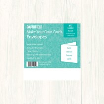 130sq White Envelopes (50)