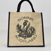 Bonnie Thistle Jute Shopper