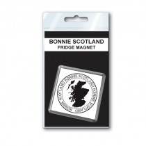 Bonnie Map Fridge Magnet