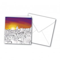 Sketch Town Greeting Card
