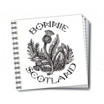 Bonnie Scotland Wiro Notebook