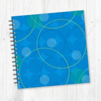 Wiro Bound Square Notebook-206