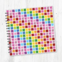 Wiro Bound Square Notebook-208