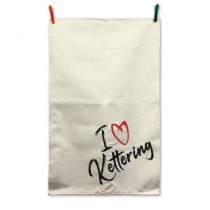 I Heart Cotton Tea Towel