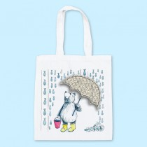 Raining Fish Shopper Bag